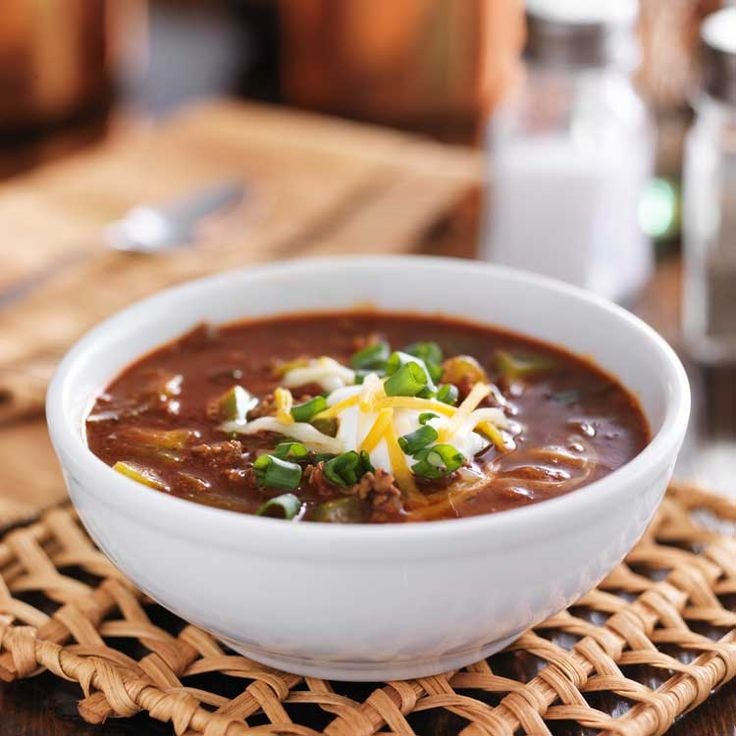 This has to be the best chili recipe worldwide. It has ground chuck, bacon and more. #AllSheCooks