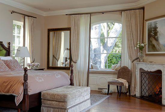 This Bedroom Boasts Some Italian Influence In Its Timeless Palette And Classic Lines