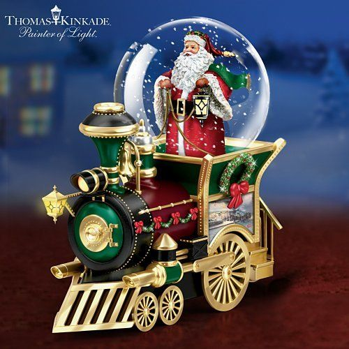 Thomas Kinkade Santa Claus Is Comin' To Town Musical Snowglobe Train Car by The Bradford Exchange by Bradford Exchange, http://www.amazon.com/dp/B004PLPIUC/ref=cm_sw_r_pi_dp_vPcBsb0WB4YVT $19.99