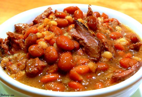 Beef, Bean and Barley Stew - Cholent. Never heard of this but I think it is going to be a new favorite!