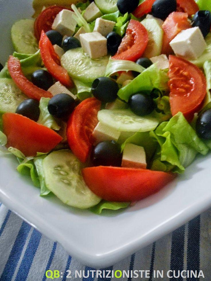Q B Le ricette light: Insalata greca con tofu