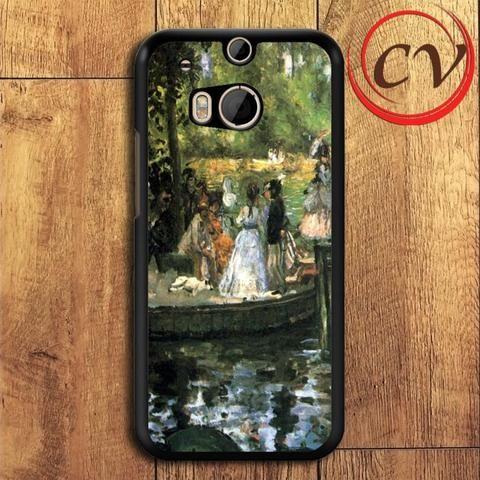 Grenouillere HTC One M8 Black Case