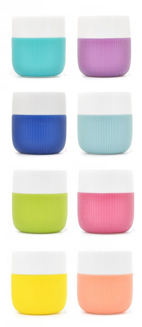 Contrast cups // warm + cool   by Royal Copenhagen