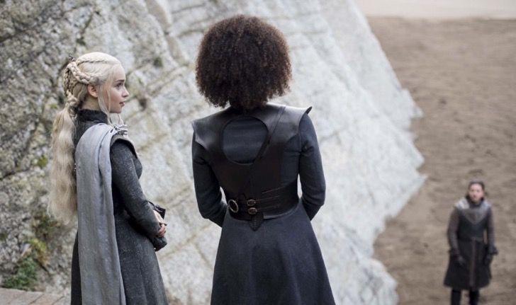 A quién esperará Daenerys? Nuevas fotos de cuarto capítulo de Juego de Tronos ya están aquí