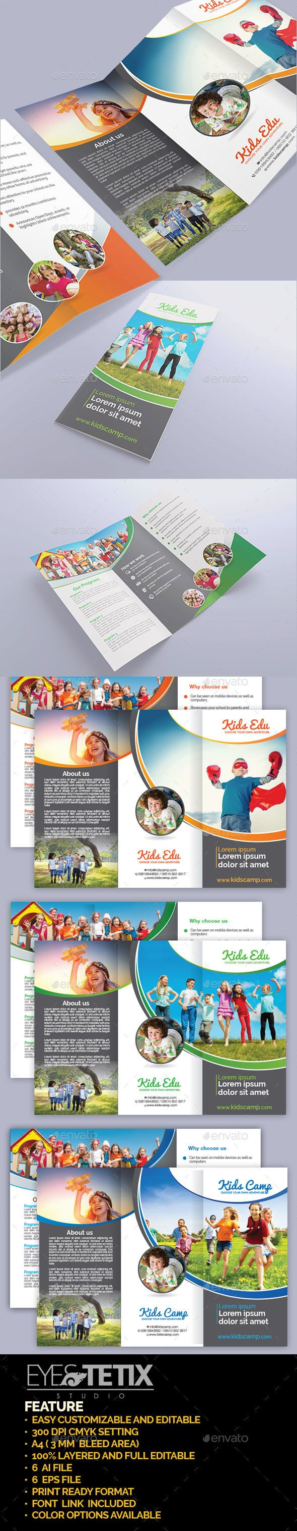 Kids Camp Education Brochure - Corporate Brochures