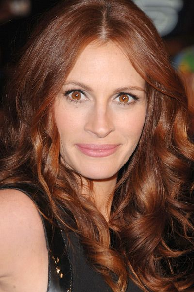 Celebrities With Red Hair | Golden hair color, Covering gray hair ...