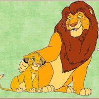 El Rey León: tarjetería para imprimir gratis.