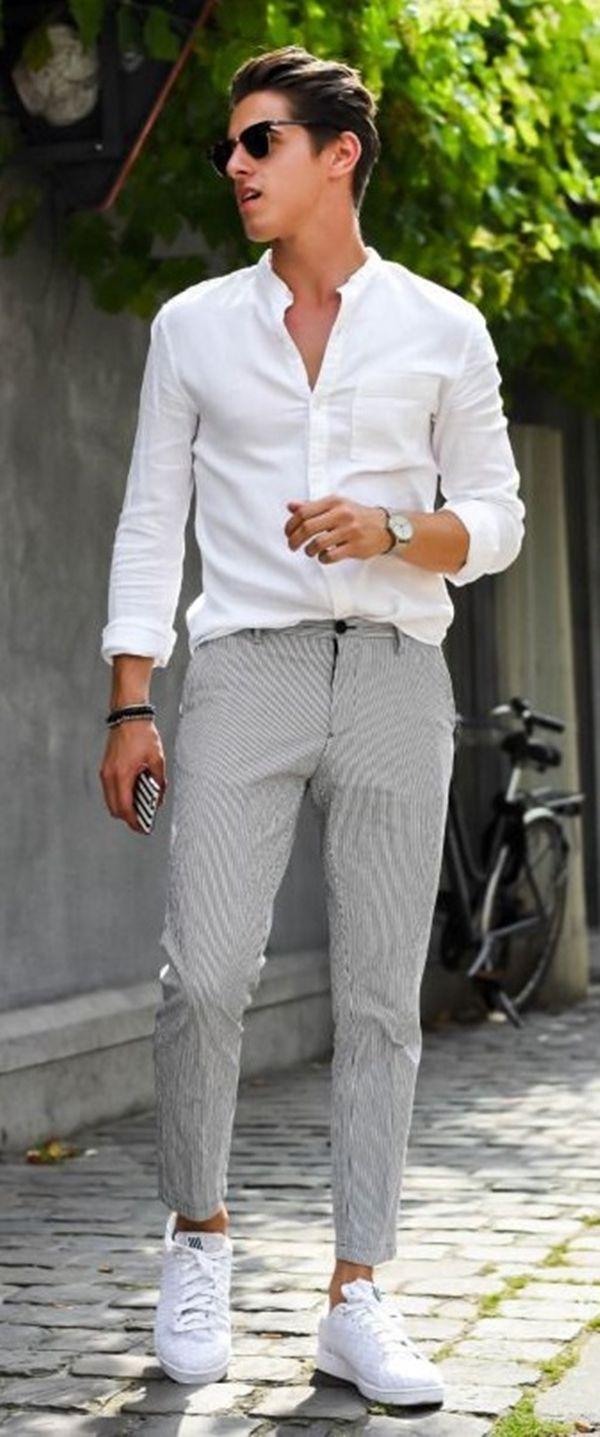 Summer Fashion Looks For Short Men Beach Outfit Men Summer Outfits Men Cool Summer Outfits