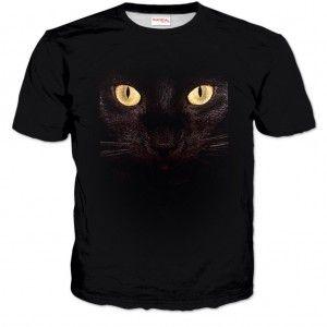 KOCIE OCZY Koszulka Tshirt Full Print