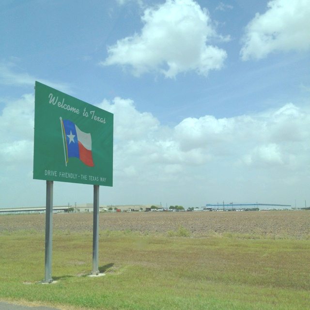 On the border...back in Texas!