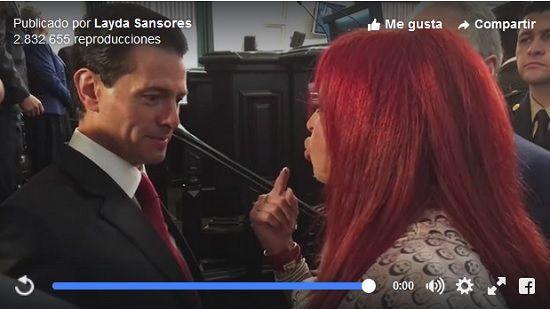 (Video) Layda Sansores encara a Peña Nieto - http://www.esnoticiaveracruz.com/video-layda-sansores-encara-a-pena-nieto/