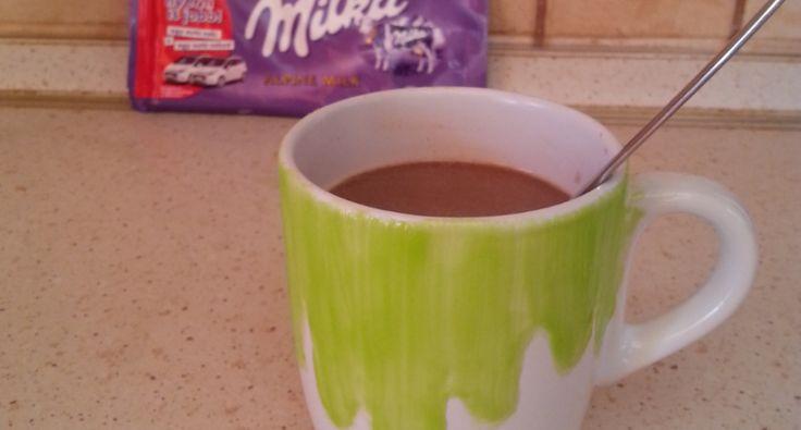 Milka forrócsoki recept