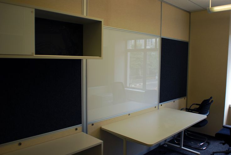 Selecting a combination of finishes for your space allows for the correct combination of functionality, acoustic dampening, privacy and aesthetic appeal. #officespace #design
