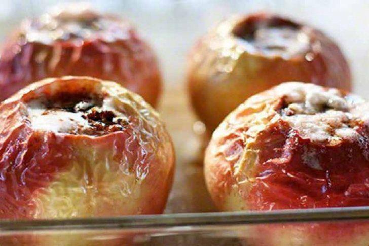 #Recetas Prepara unas ricas manzanas horneadas