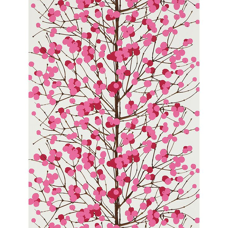 Buy Marimekko Lumimarja Wallpaper online at John Lewis