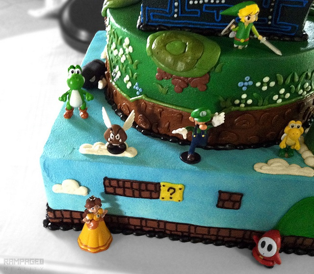 Pics Quiz Cake Art Mon : 15 best images about Art Club Video Game Bake Sale on ...
