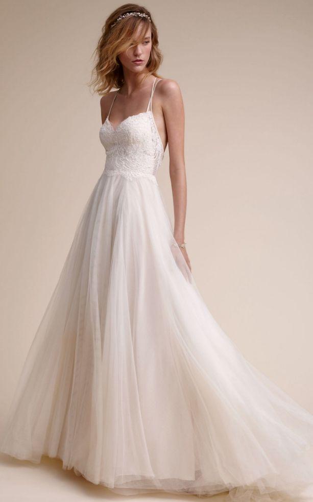 Courtesy of BHLDN; www.bhldn.com; Wedding dress idea.
