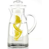 Simplicity - Glass Pitcher/jug With Infuser - 2.3 lt x H 31 cm - Lifestyle Home and Living