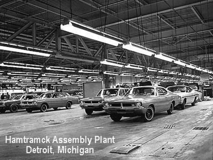 Dodge Dart Assembly Line, Detroit, Michigan (With images