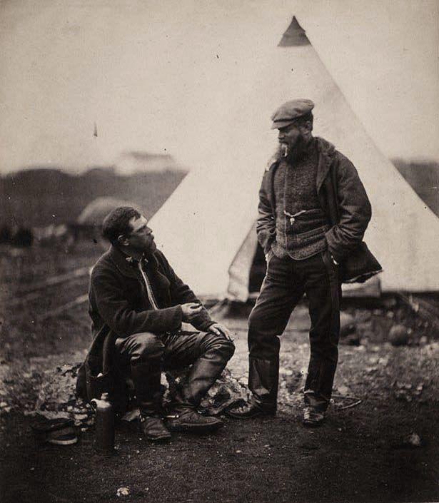 Major Hallewell & Captain Pearson