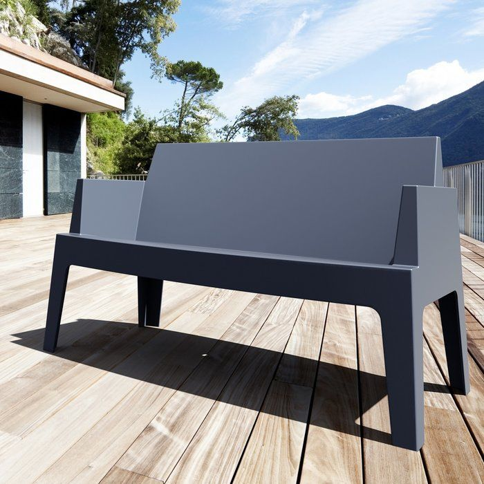 Bence Plastic Outdoor Garden Bench Outdoor Bench Outdoor Garden