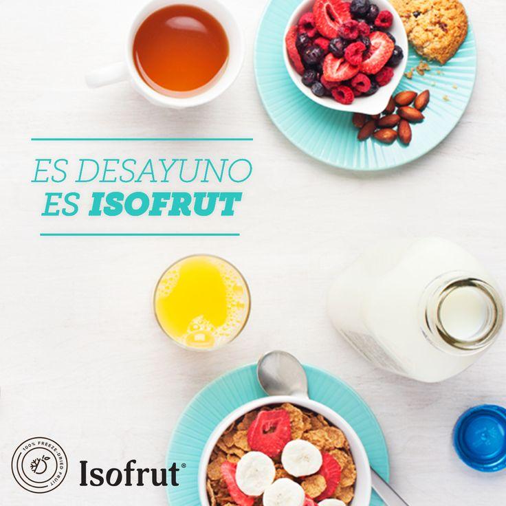 La mezcla perfecta para partir bien el día  #Isofrut #Breakfast #Mmm