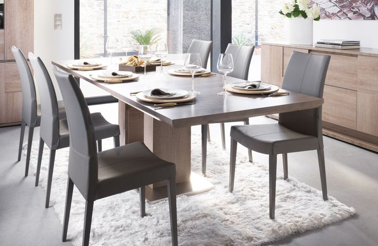 Rectangular table gautier jethalal home pinterest room for 3 dining rooms at be our guest