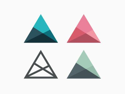 25 Creative Flat Logo Designs You'd Love | Inspiration                                                                                                                                                                                 More