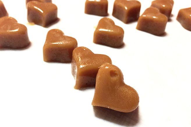 DIY /gjør det selv hjerte karameller