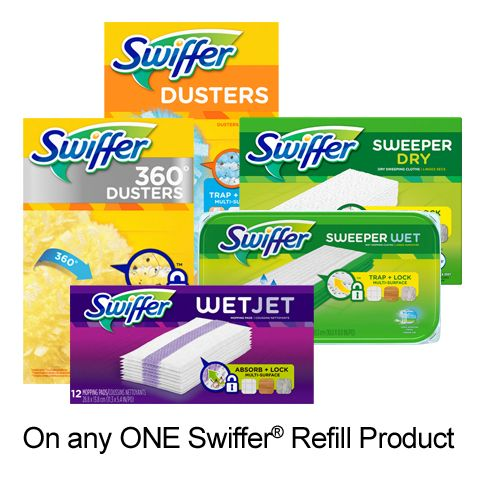 image relating to Swiffer Coupons Printable referred to as  Xmas items Swiffer refill, Drive