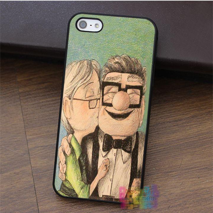 До Pixar Фильм Карл и Элли Cute Love Комедии имиджевый чехол для iphone 4 4S 5 5S 5c SE 6 6 s 6 плюс 6 s плюс 7 плюс 7 # LI3312