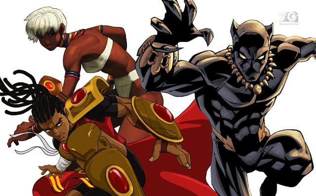 African video game characters