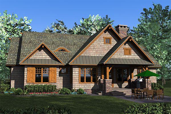 Verona House Plan 4741 Craftsman Master Down Great