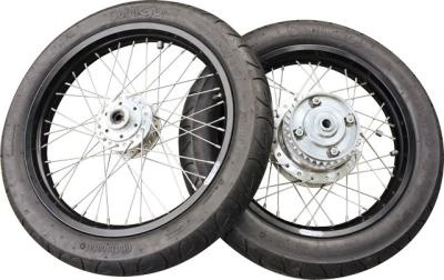Continental ContiGO! motorcycle tires. One of 11 products we looked at for easy ways to upgrade your classic motorcycle in the May/June 2011 issue of Motorcycle Classics.