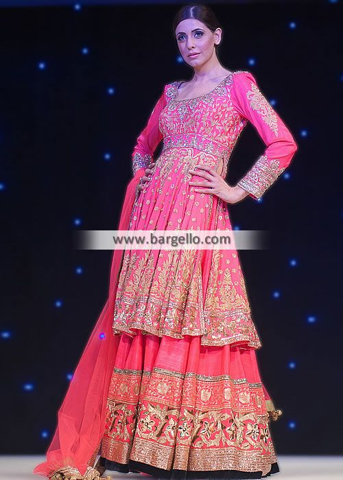 Love the style!-D4644 Manish Malhotra Bridal Sharara Dresses Fashion Show UK 2013 2014 Bridal Wear