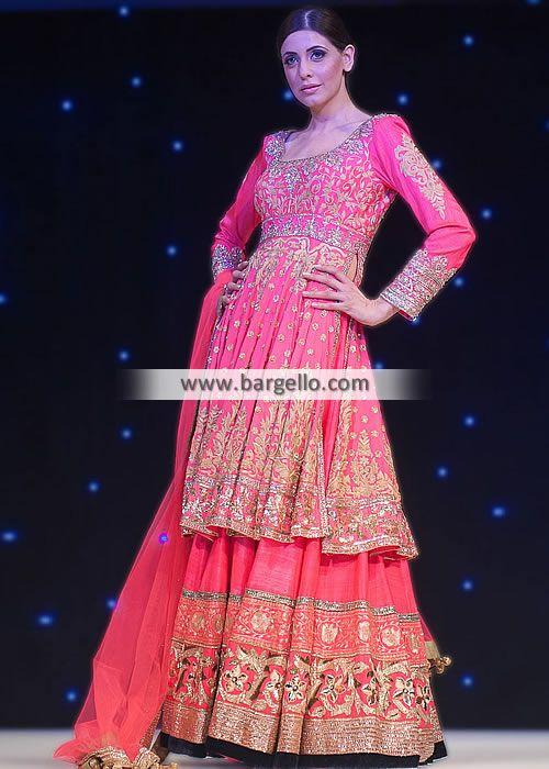 Love the style!-D4644 Manish Malhotra Bridal Sharara Dresses Fashion Show UK 2013 2014 Bridal Wear