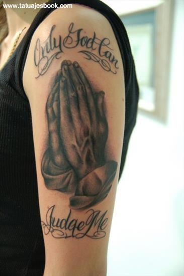 Tatuaje de Manos de Oracion 2
