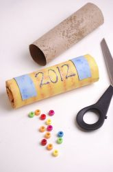 Preschool New Year Activities: New Year Noise Maker