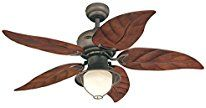 Discover the best palm leaf ceiling fans at Beachfront Decor. We have a ton of different palm ceiling fans that are perfect for a tropical beach home.
