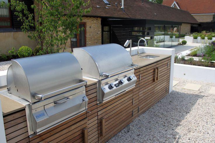 528 beste afbeeldingen van outdoor kitchen buitenkeukens - Moderne buitentuin ...