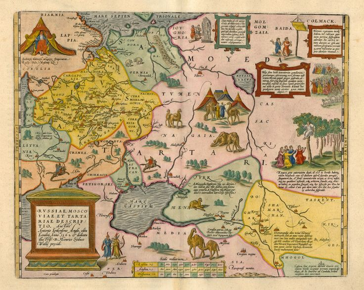 North East Europe Map 1562