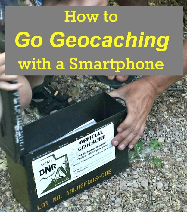 geocaching with a smartphone gps #VZWBuzz