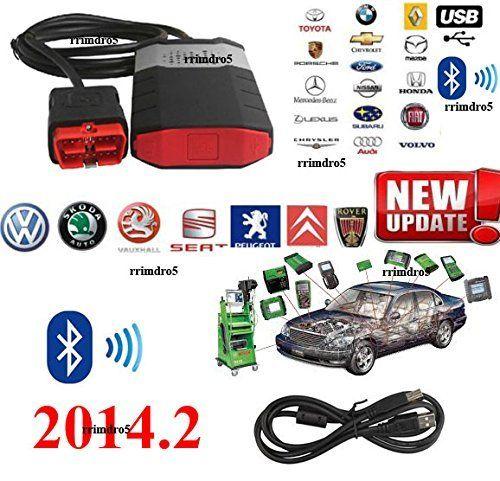 outil de diagnostic pour voiture et camion et remorque avec Bluetooth…: logiciel: Dernière version est 2014 R3 + Wow 2016 avec activateur…