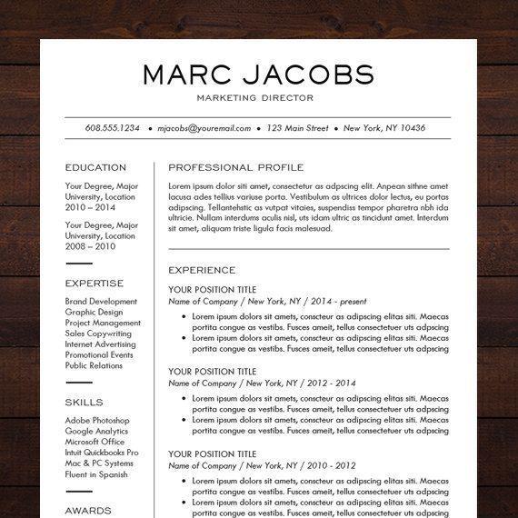 18 best Idées CV images on Pinterest Resume, Resume templates - walgreens resume paper