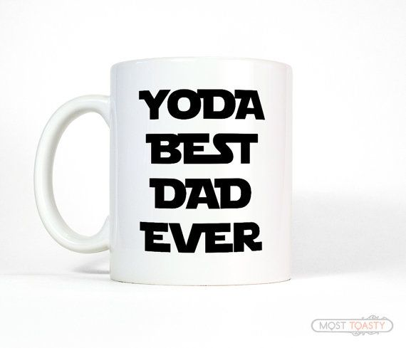 For our Star Wars fans! https://www.etsy.com/listing/233610774/funny-father-gift-yoda-best-dad-ever