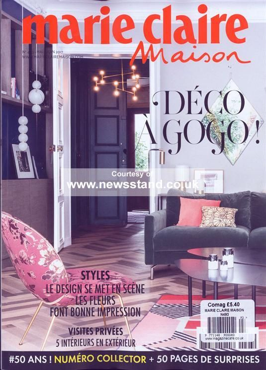 Marie Claire Maison Magazine Subscription | Buy at Newsstand.co.uk | French