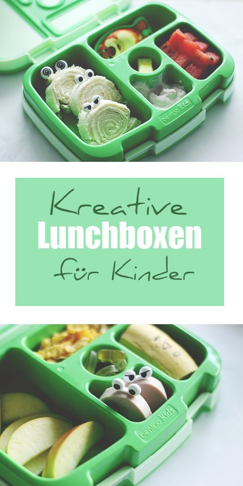 Lunchbox Ideen für Kinder in der bentgo kids