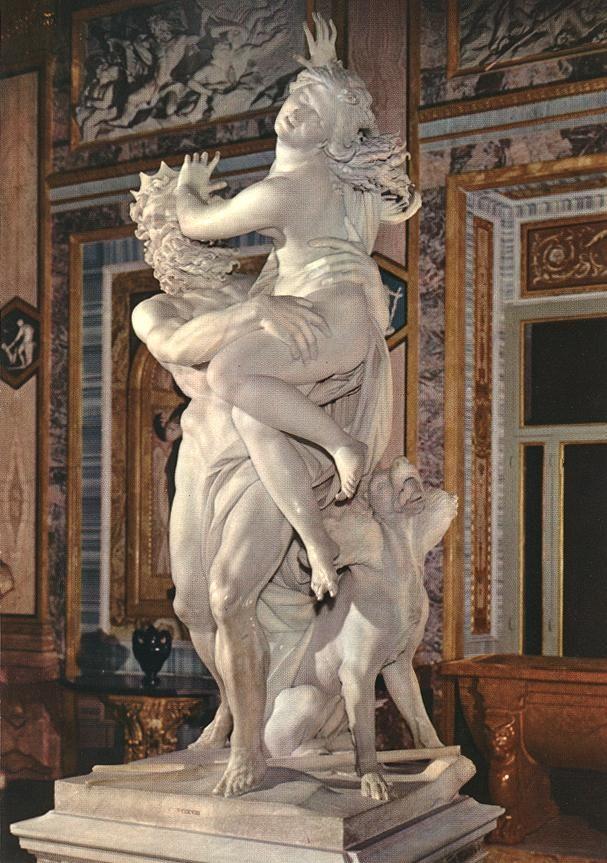 Ο βιασμός της Περσεφόνης (1621-22) Γκαλερί Μποργκέζε