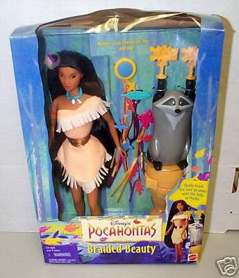 Meeko Hair Braider!!!! And I pretty sure that is where I got my Pocahontas Doll...which I still have. ^_^
