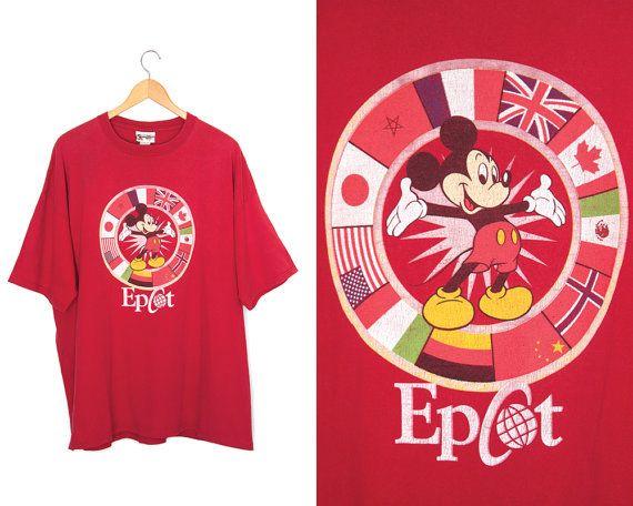 Vintage Mickey Mouse T-shirt. Walt Disney by LiveToLiveVintage
